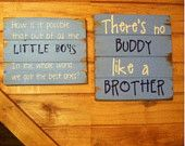 Boys Signs / Great for kids rooms, boys room, girls room, baby gift