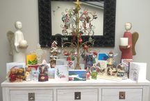 Side unit Christmas displays