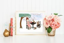 Anne of Green Gables by Addie & George / All things Anne... nursery items and kids room decor.
