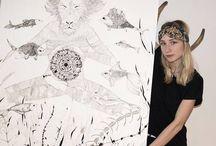 Kunstneren Alina Milisunaite