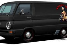 A-100 Dodge van,first ten years / by Flavil Suggs