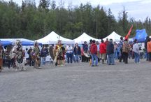 Alaska 2014 / I flew to Anchorage to attend a conference of North American indigenous chiefs, participated in Pow Wows and a variety of cultural events.