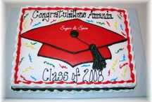 Graduation Cakes / by Cathy Shafer Duncan