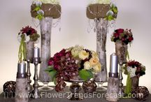 Flower Trend: Grand Lodge 2014 / Flower Trend Grand Lodge is earthen simplicity combined with manmade luxury. It blends natural, rustic materials with metals, glass and crystal that have luster and sheen