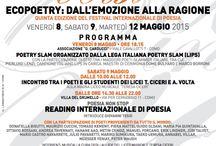 Eventi Culturali e Festival Letterari / Una raccolta degli eventi culturali in giro per l'Italia e non solo