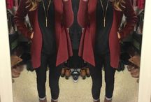 COTD Style Challenge: Baked Bread Brown and Dark Maroon