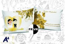 Almofadas / Presentear e sempre bom! Inspire-se e crie sua almofada personalizada para presentear quem você ama.  http://vitrine.elo7.com.br/a4festasebrindes