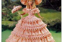 Georgia peach crochet dress