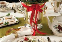 χριστουγεννιατικα τραπέζια