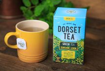 Our Delicious Fruit, Herbal and Green Teas / We've created a delicious range of fruit, herbal and green #teas inspired by life in #Dorset, capturing the all-round loveliness of the county.