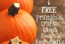 Themes: Pumpkins