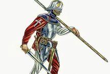 Rustning & riddere