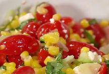 Salade de mais d'été