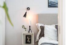 idees pour chambre   prtit carre sur le cote du lit