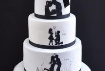 sziluettes torta