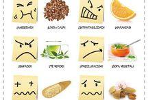 alimentos para diferentes estados de ánimo