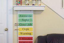 Toddler - reward system/charts/hints