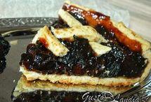 tarta cu prune uscate