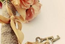 Tobi & Martin / May 2014 - The Secret Garden, keys, birdcages - whites, creams and greens