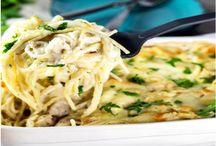 Chicken & White Spaghetti Recipe