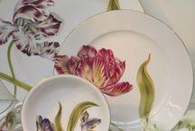 Porcelana dinner plates