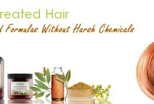 Color Hair Care Solutions / Our natural products for color-treated hair gently cleanse, replenish and nourish to help hair color last longer while keeping your hair looking its very best.  Color-treated hair can be dry, frizzy, and coarse without the proper care. These products moisturize your hair to help protect from damage and breakage.  Your hair will feel and look healthy, manageable and smooth.