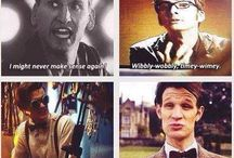Blimey / Not a whovian? Naaahh,, It's not my fault