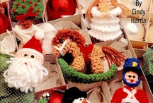 crochet ornaments and pram charms