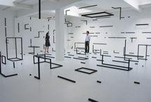Design- Gallery /  Installation / by Tenia Wallace