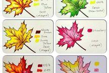 Coloured pencil tips