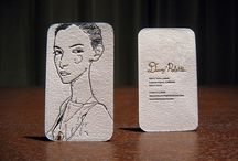 Fashion blogger business card ideas / by The Fashion Engineer