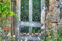 garden gate love / by Rachel Peine
