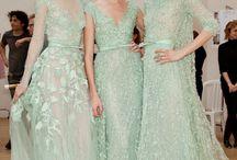 * mint wedding * / Mint & Lavender weddings. Purple weddings. Mint and lavender bridesmaid robes.