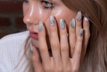 New York Fashion Week Spring 2016- The Best of Beauty / Beautiful images from backstage at the New York collections, the best nails, hair, and makeup