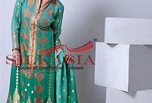 Silk Asia Fancy Dresses 2014
