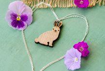 Vegan Cuts Animal Pendant Necklaces
