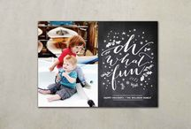 Holiday Christmas Cards / Favorite designs for Christmas and Winter Holidays