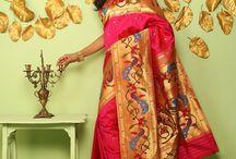pathani Sarees