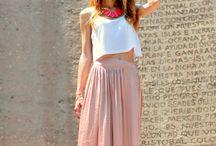 ♥ Maxi skirts