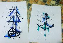 My drawing and tattoo / Drawing, sketch, tattoo