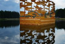 wood installation
