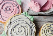 Flower Cookies / Decorated flower cookies