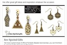 Sow Spirited gifts, Fantastic Beasts merchandise