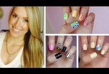 Summer Nail Art, Designs, and Tutorials / Summer Nail Art, Designs, and Tutorials