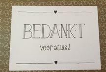 Handlettering ♦ Handmade fonts