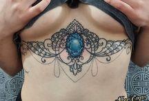brest tattoo