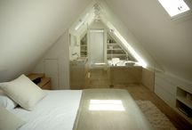 Bathroom & bedroom attic