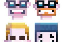 Pixel Portrait References