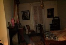 My Whaley House adventures / I volunteer and give tours of the Whaley House museum on Thursday nights...  Here are some of my ghostly pics! :) / by Lisa Kessler
