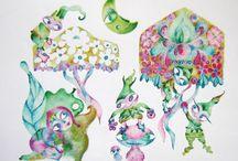 Le mie Illustrazioni / Illustrazioni create da Sarita Nanni